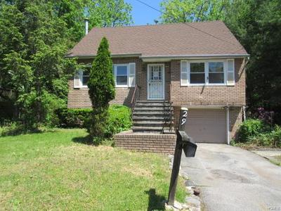Ossining Single Family Home For Sale: 29 Fuller Road