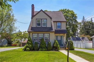 Port Chester Single Family Home For Sale: 31 Hobart Avenue