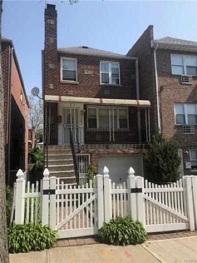 Bronx Single Family Home For Sale: 3123 Arnow Place