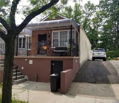 Bronx Single Family Home For Sale: 2711 Dewitt Place