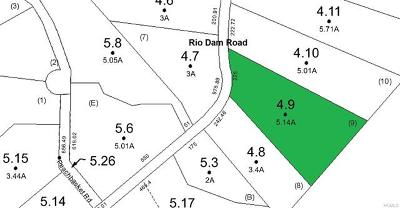 Residential Lots & Land For Sale: 4.9 Rio Dam Road