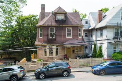 Yonkers Multi Family 2-4 For Sale: 7 Lincoln Terrace