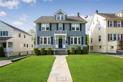 Port Chester Single Family Home For Sale: 99 Hobart Avenue