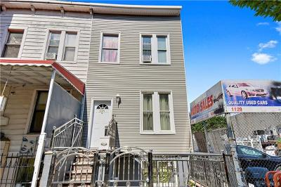 Bronx Single Family Home For Sale: 1125 Southern Boulevard
