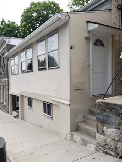 Ossining Multi Family 2-4 For Sale: 81 Main Street
