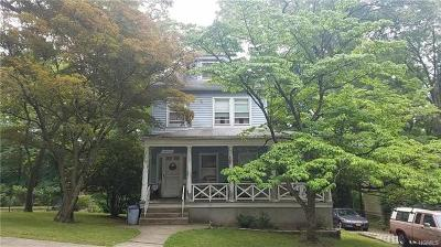 Hastings-On-Hudson Single Family Home For Sale: 341 Mount Hope Boulevard