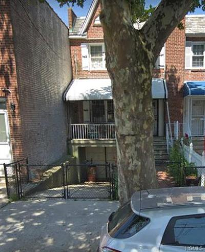 Bronx Single Family Home For Sale: 4623 Matilda Avenue