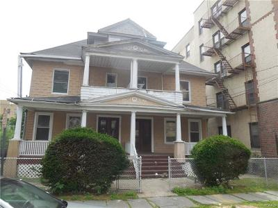 Mount Vernon Multi Family 2-4 For Sale: 9 North 9th Avenue
