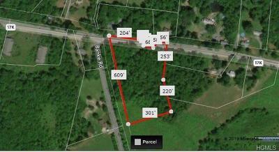 Bloomingburg Residential Lots & Land For Sale: Route 17k & Banke Rd
