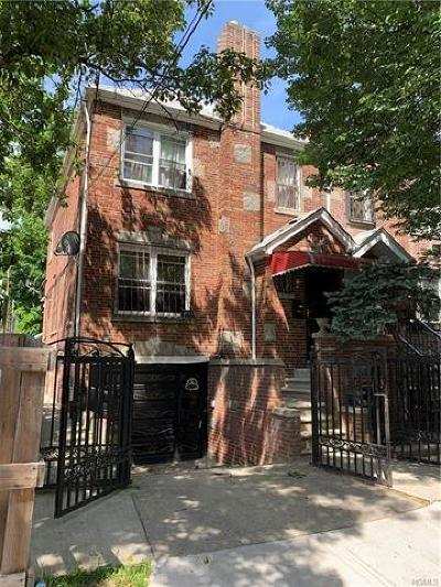 Bronx Single Family Home For Sale: 4111 Bruner Avenue
