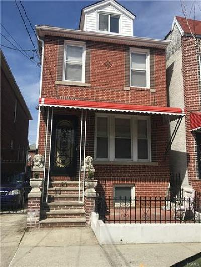 Bronx Single Family Home For Sale: 2229 Hermany Avenue