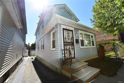 Bronx Single Family Home For Sale: 2117 Saint Paul Avenue
