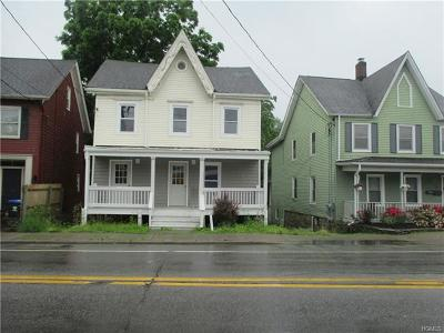 Dutchess County, Orange County, Sullivan County, Ulster County Single Family Home For Sale: 33 East Main Street