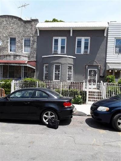 Bronx Multi Family 2-4 For Sale: 2746 Holland Avenue