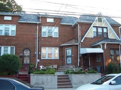 Bronx Single Family Home For Sale: 3328 Wilson Avenue