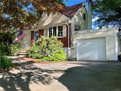 Westchester County Single Family Home For Sale: 12 Richmond Place