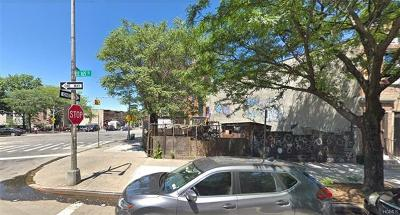 Bronx Residential Lots & Land For Sale: 1100 Westchester Avenue