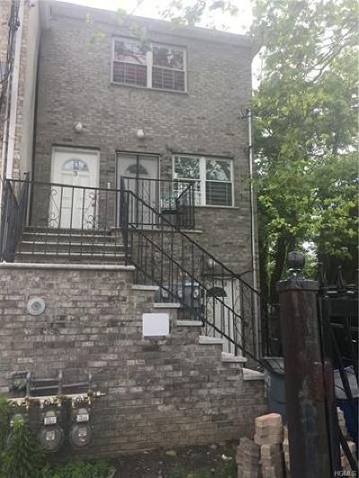 Bronx Multi Family 2-4 For Sale: 743 East 215th Street