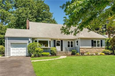 Scarsdale Single Family Home For Sale: 52 Top O The Ridge Drive