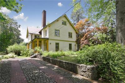 Tarrytown NY Single Family Home For Sale: $1,060,000