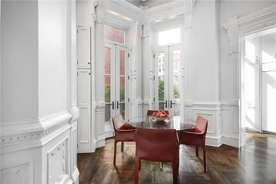 New York Single Family Home For Sale: 33 Mount Morris Park West #TH