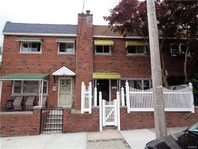 Bronx Single Family Home For Sale: 2958 Mickle Avenue