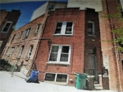 Bronx County Multi Family 2-4 For Sale: 1313 West Farms Road