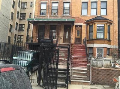 Bronx County Multi Family 2-4 For Sale: 1022 Woodycrest Avenue