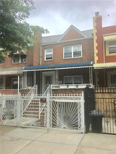 Bronx Single Family Home For Sale: 1058 Evergreen Avenue