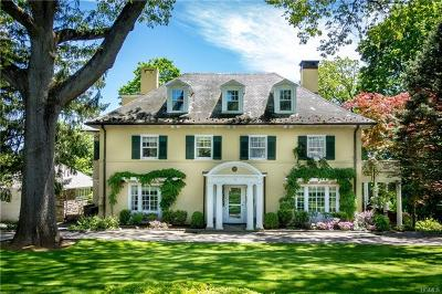 Bronxville Single Family Home For Sale: 17 Ridge Road