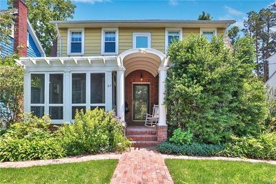 New Rochelle Single Family Home For Sale: 27 Pershing Avenue