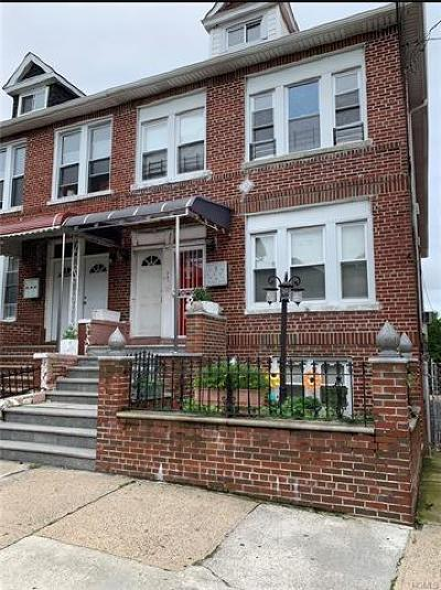 Bronx Multi Family 2-4 For Sale: 741 Noble Avenue