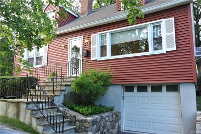 Ossining Single Family Home For Sale: 19 Iroquois Road