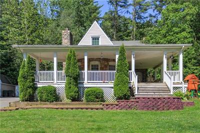 Cuddebackville Single Family Home For Sale: 196 Oakland Valley Road
