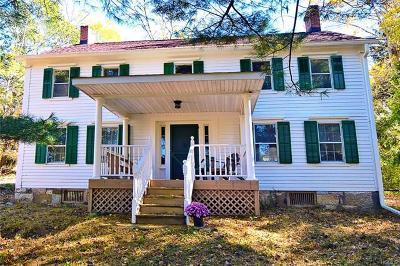Pine Bush Single Family Home For Sale: 1496 Burlingham Road