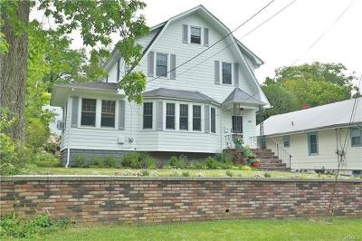 Nyack NY Single Family Home For Sale: $594,000