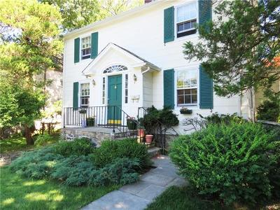 Hastings-On-Hudson Single Family Home For Sale: 21 Forest Avenue