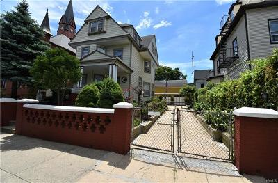 Mount Vernon Multi Family 2-4 For Sale: 112 West Second Street