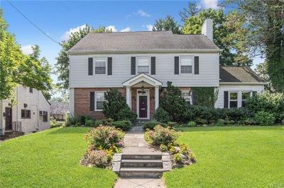 Tuckahoe Single Family Home For Sale: 446 Westchester Avenue