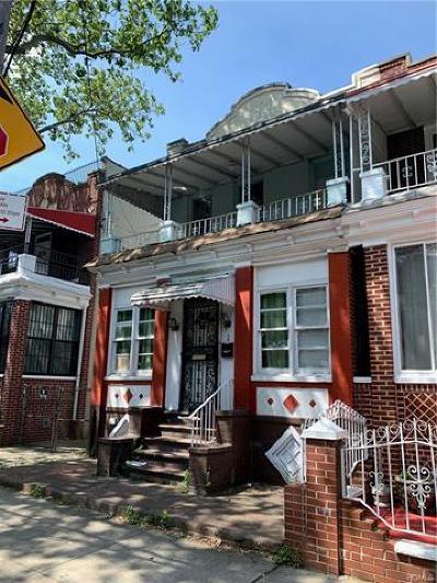 Brooklyn Multi Family 2-4 For Sale: 600 Miller Avenue