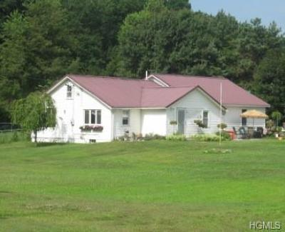 Single Family Home For Sale: 1330 State Route 208