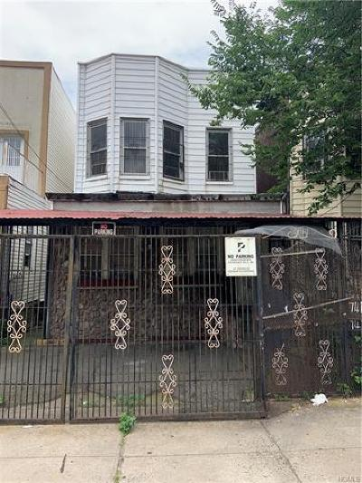 Bronx Multi Family 2-4 For Sale: 741 Crotona Park North
