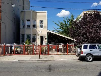Bronx Single Family Home For Sale: 733 Crotona Park North
