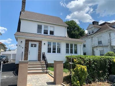 Westchester County Multi Family 2-4 For Sale: 319 Egmont Avenue