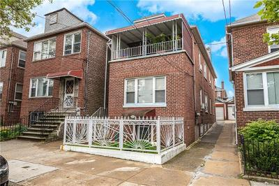 Morris Park Multi Family 2-4 For Sale: 1831 Bogart Avenue
