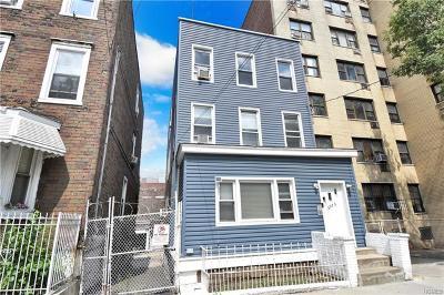 Bronx Multi Family 2-4 For Sale: 3073 Villa Avenue