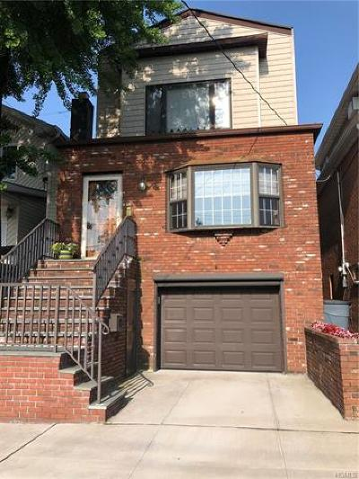 Bronx Single Family Home For Sale: 1449 Gillespie Avenue