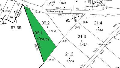 Residential Lots & Land For Sale: 96.1 Highland Lake Road