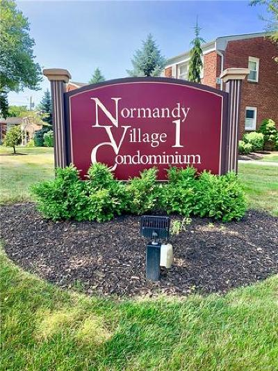Nanuet Condo/Townhouse For Sale: 2 Normandy #3