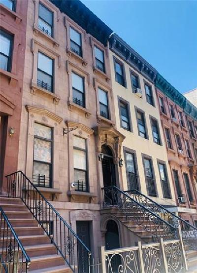 New York Multi Family 2-4 For Sale: 116 West 133rd Street